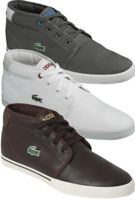 Lacoste Ampthill Compare Prices Mens Lacoste Trainers