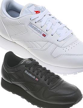 noir reebok trainers classic