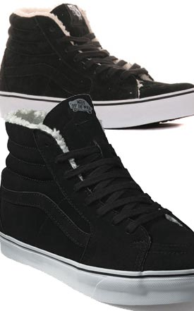 087f30757e example colour combinations VANS SK8 Hi Fleece SF ...