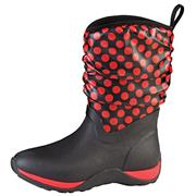 Muck Boots Arctic Weekend Red Polka Dot