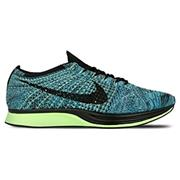 Nike FlyKnit Racer Blue Lagoon/Black/Polarized Blue
