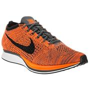 Nike FlyKnit Racer Total Orange/White/Dark Grey