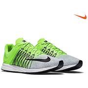 Nike Zoom Streak Streak 5 - White/Black/Voltage Green