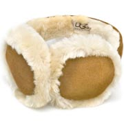 UGG Ear Muffs Double U Logo