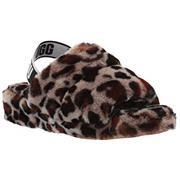 UGG Fluff Yeah Slide - Leopard