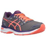 Womens Asics Gel Excite Gel Excite 4 - Shark/Flash Coral/Parachute Purple