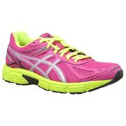 Womens Asics Gel Patriot Patriot 7 - Hot Pink/Silver/Flash Yellow